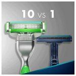 Ancienne Version/Gillette Mach3 Sensitive Lames De Rasoir Pour Homme - 5Recharges de la marque Gillette image 4 produit