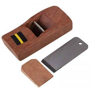 Cnbtr 10cm Marron charpentier Bois Rabot de rasage à main Rabot rasoir de charpentier Avion trempé Lame DIY Outil de travail du bois de la marque CNBTR 2015 image 0 produit