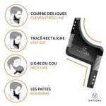 Coffret Barbe Complet par Sapiens : Kit d'Entretien pour Barbe & Moustache avec Brosse, Peigne et Pochoir à Barbe, Rasoir, 10 Lames Derby et Ciseaux + Ebook Offert de la marque image 1 produit