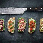 """Dalstrong Couteau utilitaire ultime - Shogun série X - 6"""""""" sandwich""""couteau et épandeur-japonais AUS-10V - vide traités - garde inclus de la marque Dalstrong image 3 produit"""