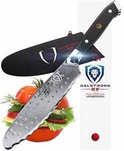 """Dalstrong Couteau utilitaire ultime - Shogun série X - 6"""""""" sandwich""""couteau et épandeur-japonais AUS-10V - vide traités - garde inclus de la marque Dalstrong image 0 produit"""