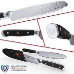 """Dalstrong Couteau utilitaire ultime - Shogun série X - 6"""""""" sandwich""""couteau et épandeur-japonais AUS-10V - vide traités - garde inclus de la marque Dalstrong image 1 produit"""