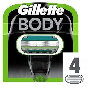 Gillette Body Recharge de lames de rasoir pour homme 4 pezzi de la marque Gillette image 0 produit
