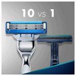Gillette Mach3 Turbo pack de Lames de Rasoir pour Homme-Lot de 12 de la marque Gillette image 2 produit