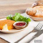 Haute qualité d'assiette en feuille de palmier kaufdichgrün I 200 pièces d'assiettes en forme de goutte du feuille palmier 17 cm I Bio jetable vaisselle pour fête rapidement décomposable de la marque image 2 produit
