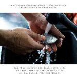 Kutt couteau de chef, lame de rasoir et antirouille professionnel à découper couteau de cuisine pour les Apprentis Cuisiniers et Pro Chef, German en acier inoxydable, lame de 20,3cm de la marque Kutt image 3 produit