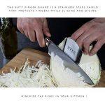 Kutt couteau de chef, lame de rasoir et antirouille professionnel à découper couteau de cuisine pour les Apprentis Cuisiniers et Pro Chef, German en acier inoxydable, lame de 20,3cm de la marque Kutt image 4 produit