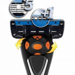 Marque Amazon- Solimo Rasoir à 5 lames pour homme avec 6 recharges de la marque Solimo image 1 produit
