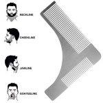 Pchero Barbe kit d'outils de coupe avec barbe Shaping Peigne, ciseaux et rasoir droit - Les lames n'est pas incluse de la marque PChero image 2 produit