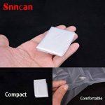 Protege Toilette Jetable, [30 PCS] Snncn Couvre-Sièges WC en papier jetables pour le voyage Femme Enceinte, emballage individuel de la marque image 2 produit