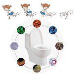 Protege Toilette Jetable, [30 PCS] Snncn Couvre-Sièges WC en papier jetables pour le voyage Femme Enceinte, emballage individuel de la marque image 3 produit