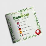 Rasoir de Sécurité avec Manche en Bambou | Rasoir de Sûreté | Traditionnel & Durable | Respectueux de l'environnement | Bambaw de la marque Bambaw image 6 produit