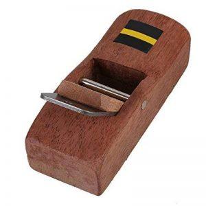 Sgerste Marron 10cm charpentier Bois Rabot de rasage à main Rabot rasoir de charpentier Avion trempé Lame DIY Outil de travail du bois de la marque SGerste image 0 produit