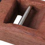 Sgerste Marron 10cm charpentier Bois Rabot de rasage à main Rabot rasoir de charpentier Avion trempé Lame DIY Outil de travail du bois de la marque SGerste image 4 produit