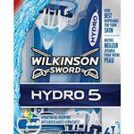Wilkinson - Hydro 5 - Rasoirs jetables masculins - Pack de 6 de la marque Wilkinson-Hydro image 2 produit