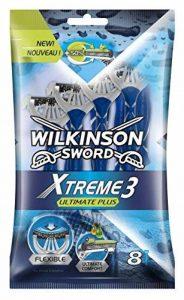 Wilkinson - Xtreme 3 Ultimate Plus - Rasoirs jetables masculins - Pack de 8 de la marque Wilkinson image 0 produit